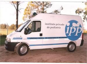 Ambulancia de Traslado de Neonatologia.